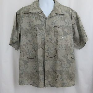 Sean John Floral Abstract Club Shirt Shirt